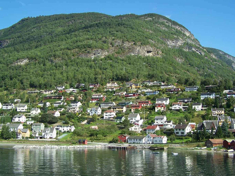 Fjorden noorwegen bergen